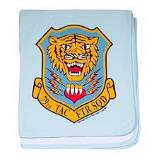 79th TFS baby blanket