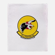 27th FS Throw Blanket
