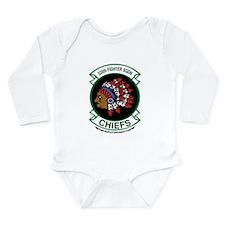 335th Long Sleeve Infant Bodysuit