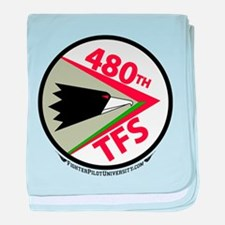 480th FS baby blanket