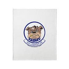 525th FS Throw Blanket