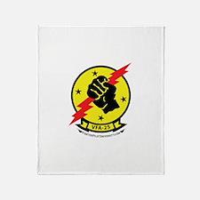 VFA-25 Throw Blanket