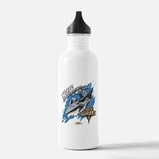 Cool Us air force nephew Water Bottle