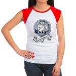 Cunningham Clan Badge Women's Cap Sleeve T-Shirt
