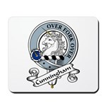 Cunningham Clan Badge Mousepad