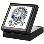 Cunningham Clan Badge Keepsake Box