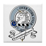 Cunningham Clan Badge Tile Coaster