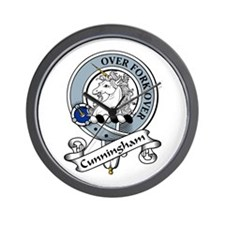 Cunningham Clan Badge Wall Clock