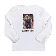 BAH HUMBUG HUMOROUS Long Sleeve Infant T-Shirt