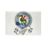 Crichton Clan Badge Rectangle Magnet (10 pack)