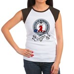 Crawford Clan Badge Women's Cap Sleeve T-Shirt