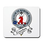 Crawford Clan Badge Mousepad