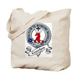 Crawford Clan Badge Tote Bag