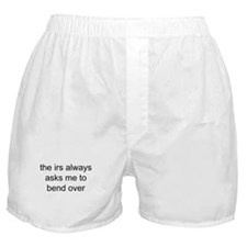 the irs always asks Boxer Shorts
