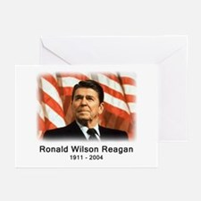 Ronald Reagan Rememberance Greeting Cards (Package