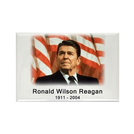 Ronald Reagan Rememberance Rectangle Magnet
