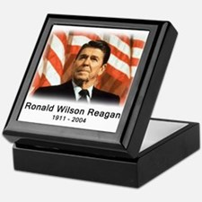 Ronald Reagan Rememberance Keepsake Box