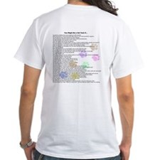 You Might Be a Vet Tech (back), Logo front T-shirt