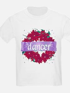 Dancer Christmas Wreath by DanceShirts.com T-Shirt