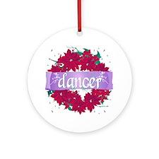 Dancer Christmas Wreath by DanceShirts.com Ornamen