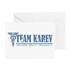 Team Karev SGH Greeting Cards (Pk of 10)