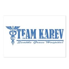 Team Karev SGH Postcards (Package of 8)
