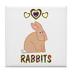 Rabbit Tile Coaster