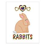 Rabbit Small Poster