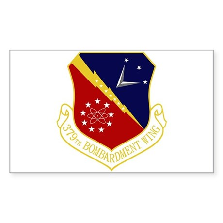 379th Bomb Wing Sticker (Rectangle)