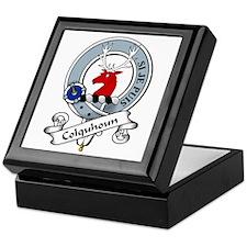 Colquhoun Clan Badge Keepsake Box