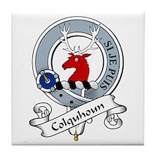 Colquhoun Clan Badge Tile Coaster