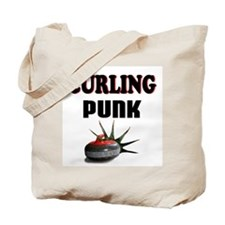 Curling Punk Tote Bag