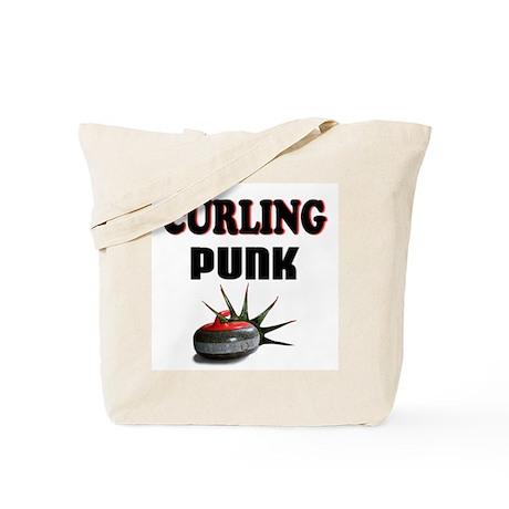 Curling Punk Tote Bag