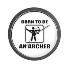 ARCHER/ARCHERY Wall Clock