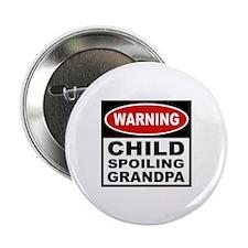 Child Spoiling Grandpa Button