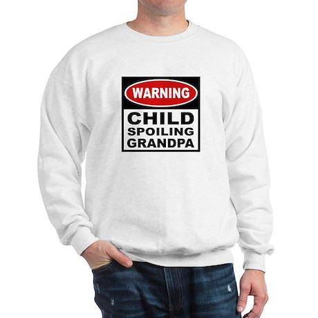 Child Spoiling Grandpa Sweatshirt