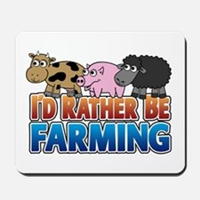 Farmville Inspired 3 animals Mousepad
