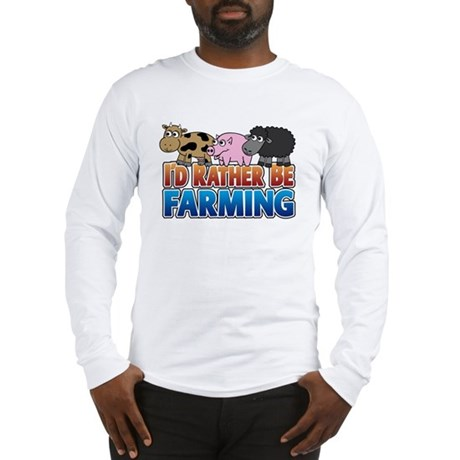 Farmville Inspired 3 animals Long Sleeve T-Shirt