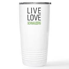 Live Love Schnauzers Travel Mug