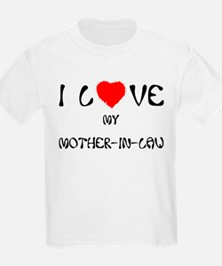 I Love My Mother In Law Kids T-Shirt