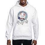 Cockburn Clan Badge Hooded Sweatshirt