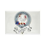 Cockburn Clan Badge Rectangle Magnet (10 pack)