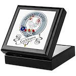 Cockburn Clan Badge Keepsake Box