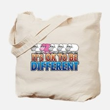 Pink Sheep - Be Different - Tote Bag