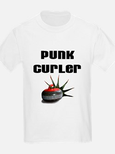 Punk Curler Kids T-Shirt