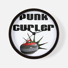 Punk Curler Wall Clock