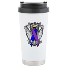 Bladder Cancer Warrior Travel Mug