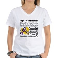 Hope Tribute Bladder Cancer Shirt
