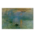 Claude Monet Torture Art Postcards (Package of 8)