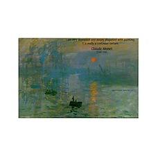 Claude Monet Torture Art Rectangle Magnet (10 pack
